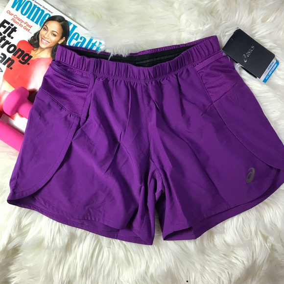 222b553b360 ASICS Fujitrail 4 Shorts